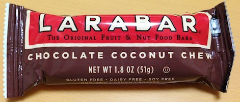 larabar chocolate coconut chew