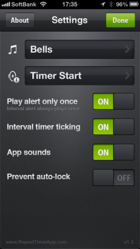 repeat timer pro06